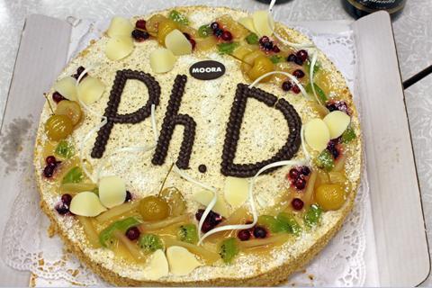 PhD torte