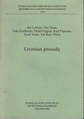 Livonian Prosody