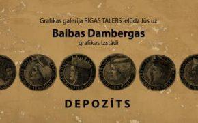 """Baibas Dambergas izstāde galerijā """"Rīgas tālers"""""""