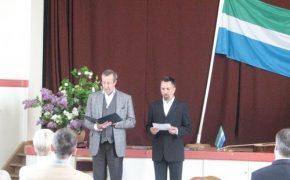 President Toomas Hendrik Ilves Liivi Rahvamajas, 7. juunil 2012