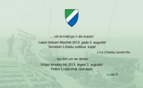 Lībiešu svētki Mazirbē 3. augustā
