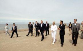 Mediji par Igaunijas prezidenta vizīti Lībiešu krastā (atjaunināts 18.06.2012.)