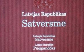 Satversmes izdevums ar tulkojumu arī lībiešu valodā