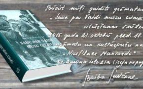 Rīgā atver Baibas Šuvcānes grāmatu par Vaides ciemu