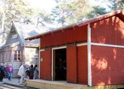 Mazirbes stacijas noliktava Piejūras brīvdabas muzejā