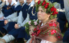 """Turaidā folkloras svētki """"MĒS LĪBIEŠI. MĒS LATVIEŠI"""""""