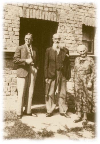 Andrejs Štālers with his wife Emīlija and their son Imants in 1939 in Jelgava.