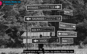 """Miķeļtornī izveidots Latvijas pirmiedzīvotājiem – lībiešiem – veltīts mākslas objekts  """"Nekādu lībiešu nav"""""""